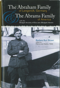 The Abraham family of Lengerich, Germany and the Abrams family of America by: Barbara Burt Brown, publsihed by: Newbury Street Press, 2007 Boston, MA